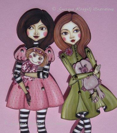 Sisters- Paper Doll-Fai da te