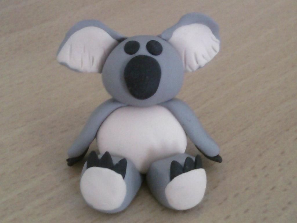 Koala fimo