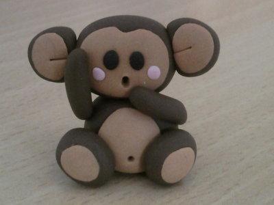 Scimmietta fimo