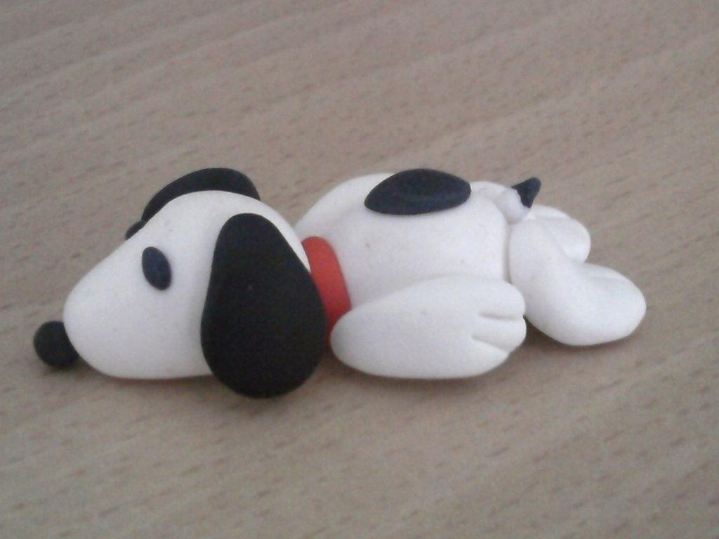 Snoopy fimo