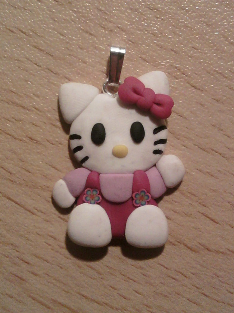 Ciondolo Hello Kitty fimo