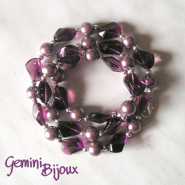 Bracciale purple e lavanda