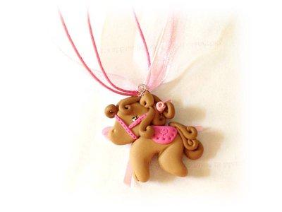 Collana cavallina- pony fimo