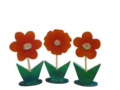 Fiore segnaposto - portamemo, pacchettino bomboniera