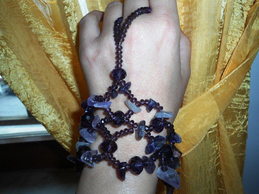 ringbracelet ametista