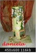 tegola decorata in 3d la pasticceria