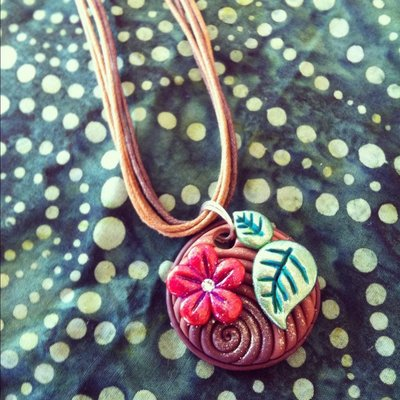 "Collana ""flower"""
