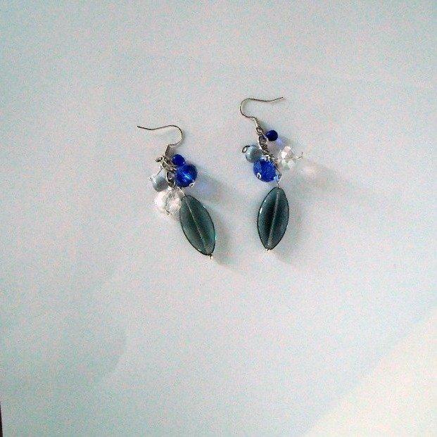 orecchini in vetro