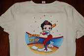 Betty boop playing baseball