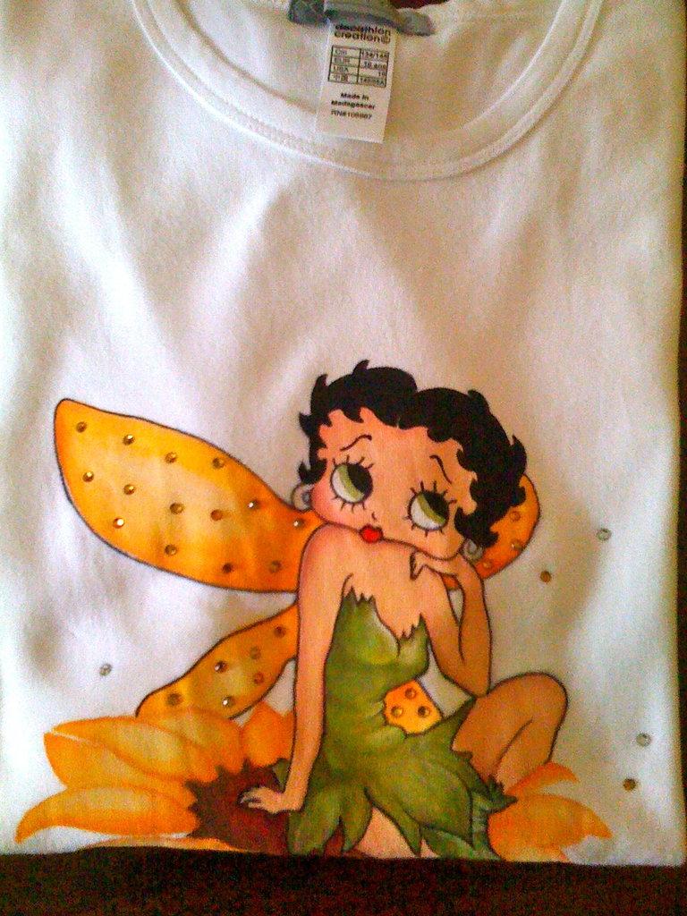 Betty boop fairy