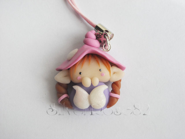 Follettina Rosa-Viola Phone Strap