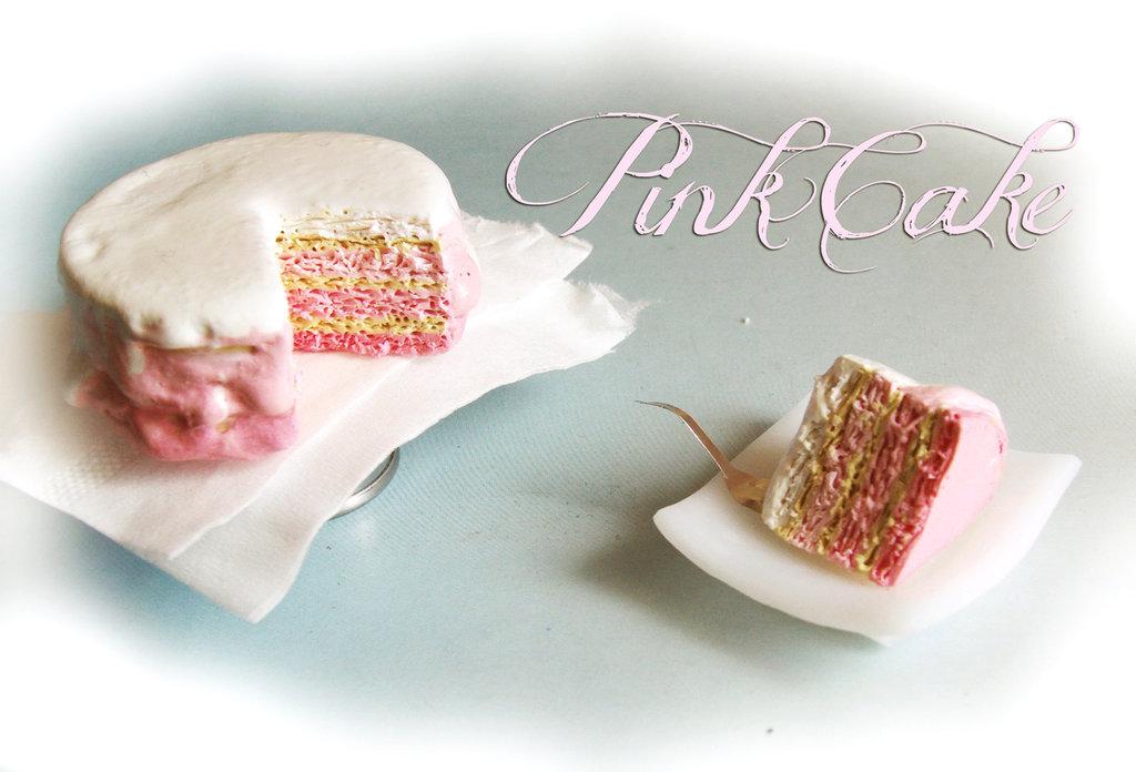 Cucina in Miniatura : Pink Cake