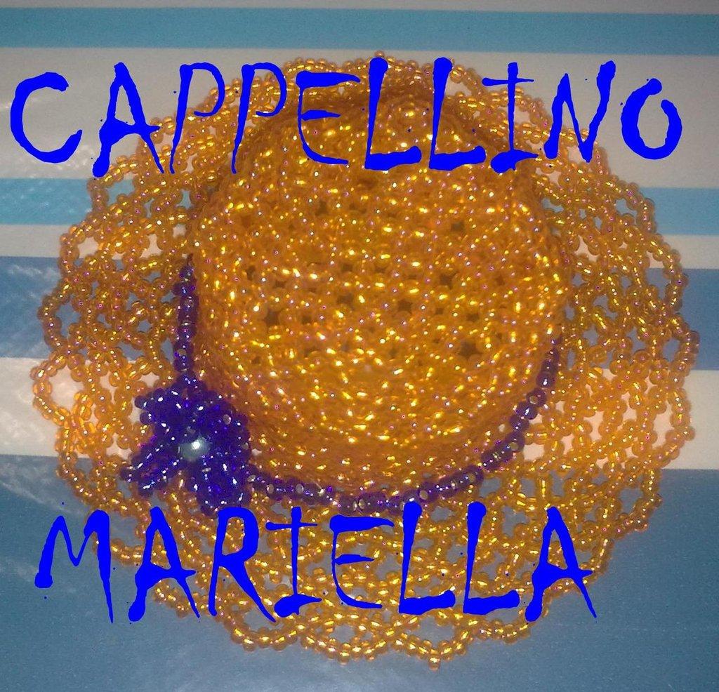 CAPPELLINO DI PERLINE