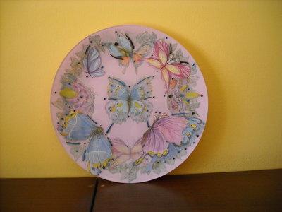 Piatto con Farfalle