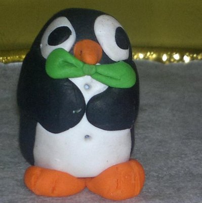 PINGUINO IN FIMO