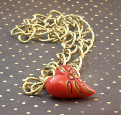 RED PASSION NECKLACE - COLLANA SERIE CUORE