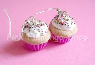 Orecchini Cupcakes in Fimo 6