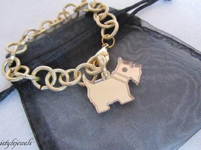 bracciale dog terrier