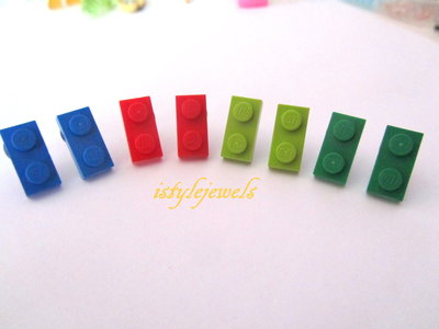 orecchini perno lego