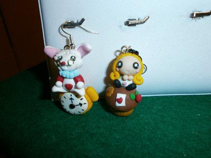 "Orecchini ""Alice in Wonderland"""