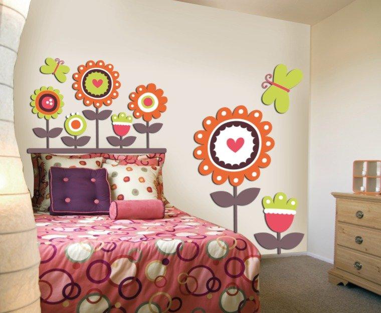 Decorazioni adesivi da parete per la casa e per te - Camera da letto decorazioni murali ...