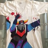 Maglietta uomo dipinta a mano robot