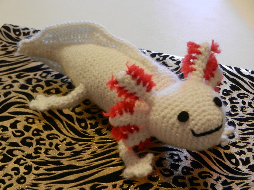 Axolotl amigurumi <3