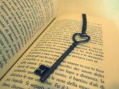collana chiave bronzo