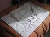 Lenzuolo cesta  HELLO KITTY + copri cuscino guarda