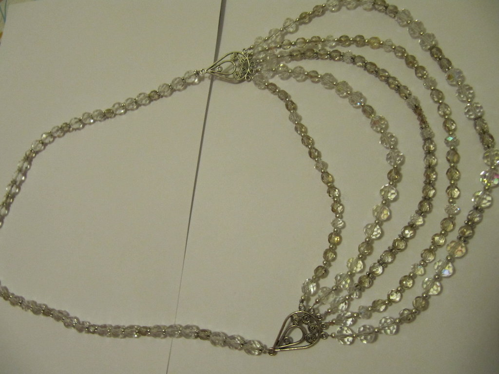 Collana cinque fili