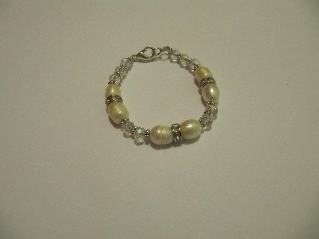 Bracciale perle di fiume