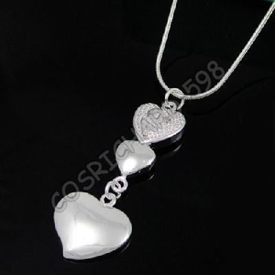 collana argento 925 cuore