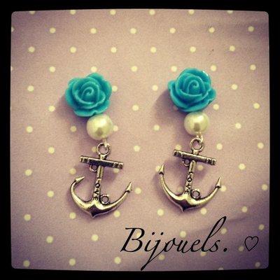 """Orecchini """"Ancora"""" - Earrings """"Anchor"""""""