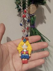 Collana Sailor Moon in fimo