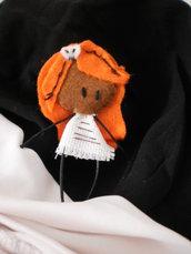 broche biobardiño laranxiña