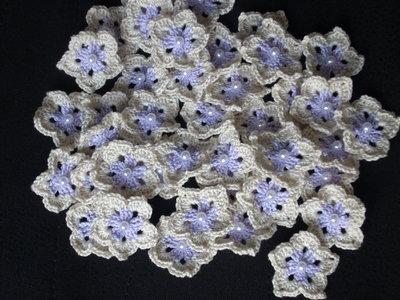 20 Fiori a stella con anello per bomboniera, segnaposto, bomboniere