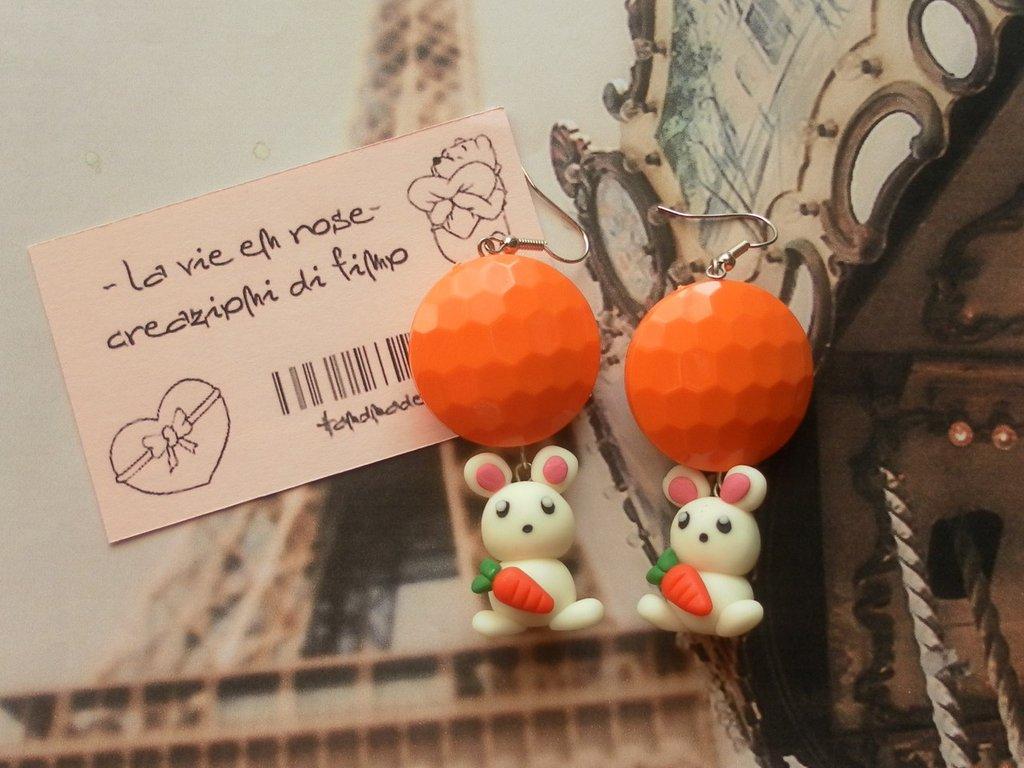 Orange bunny