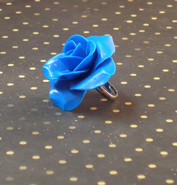 "ANELLO ""ROSE COLLECTION"" - RING - Polymer Clay"