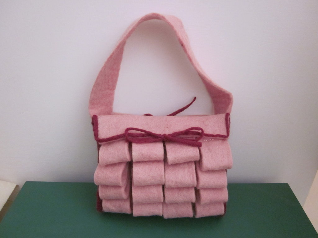 Borsa rosa
