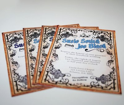 Storybook Wedding Invitations