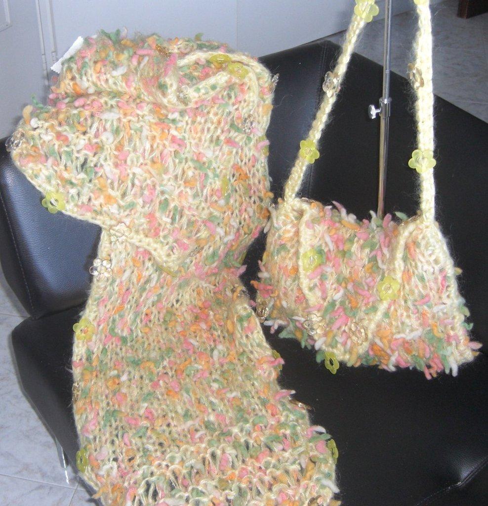 maxi sciarpa PRIMAVERA