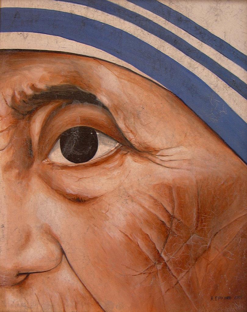 """""""Particolare M.Teresa di Calcutta"""""""