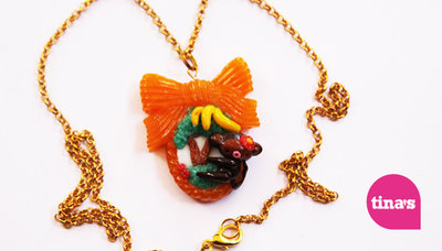 Pendant Big Monkey Bow