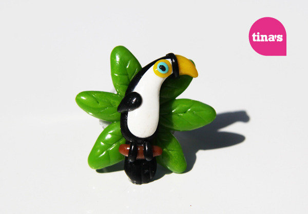 Big Toucan Ring