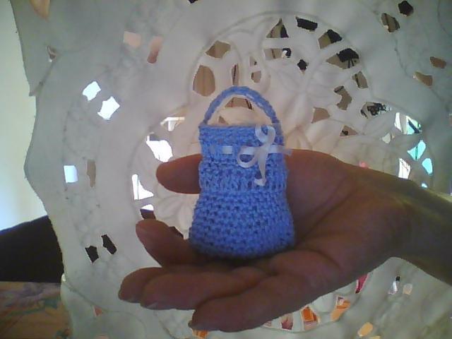 Bomboniera mini borsetta