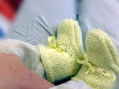 Grandma's Knitting Baby Booties 2 -- PDF pattern