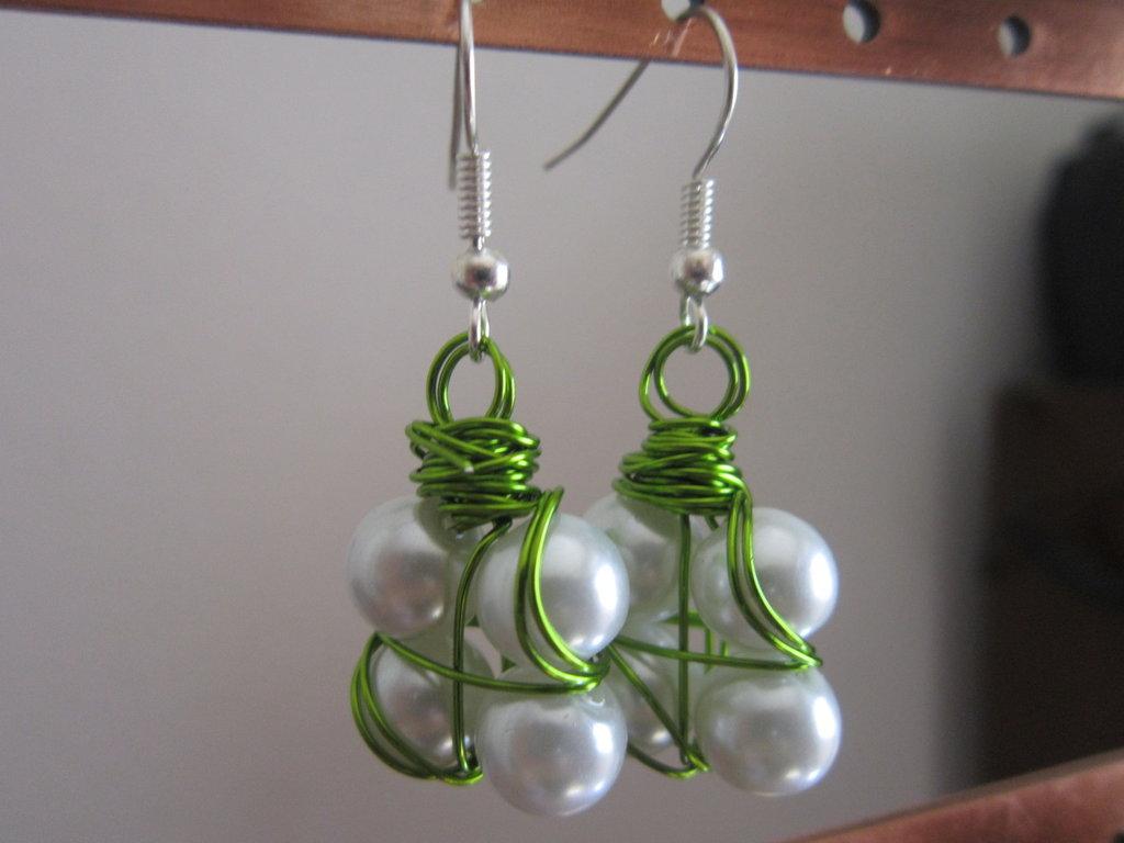orecchini perlinosi