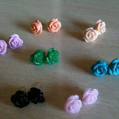 Orecchini Rosette nuovi colori