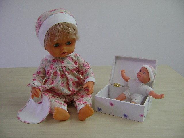 Piccirillo: il bambolotto che fa la pipì e il suo Piccirillino! (disponibile nelle fantasie rosa e celeste)