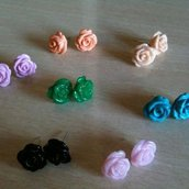 Orecchini Rosette New color